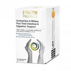 ProVen Probiotics Acidophilus & Bifidus Plus Intestinal & Digestive Support Sachets 14