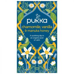 Pukka Chamomile, Vanilla & Manuka Honey Tea Bags 80