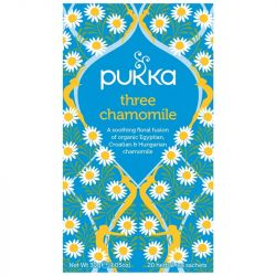 Pukka Three Chamomile Tea Bags 80