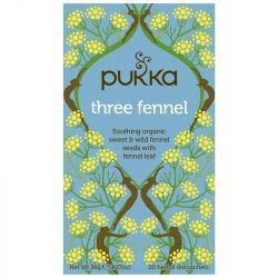 Pukka Three Fennel Tea Bags 80