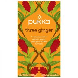 Pukka Three Ginger Tea Bags 80