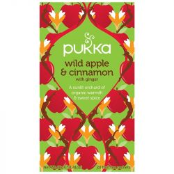 Pukka Wild Apple & Cinnamon Tea Bags 80