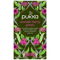 Pukka Wonderberry Green Tea Bags 80
