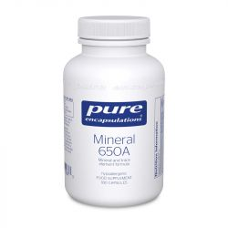 Pure Encapsulations Mineral 650A Capsules 180