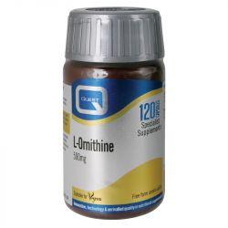 Quest Vitamins L-Ornithine 500mg Caps 120