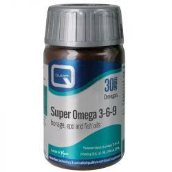 Quest Vitamins Super Omega 3-6-9  Caps 30