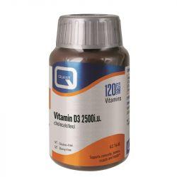 Quest Vitamins Vitamin D3 2500iu Tabs 120