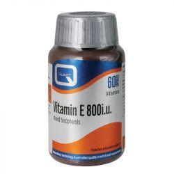 Quest Vitamins Vitamin E 800iu Soft Gel Caps 60