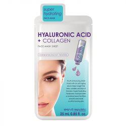 Skin Republic Hyaluronic Acid + Collagen Face Mask Sheet 25ml