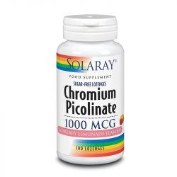 Solaray Chromium Picolinate 1000mcg Lozenges 100