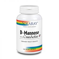 Solaray D-Mannose with CranAin 1000mg Capsules 120