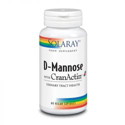 Solaray D-Mannose with CranAin 1000mg Capsules 60