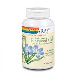 Solaray Flaxseed Oil 1000mg Softgels 90