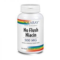 Solaray No Flush Niacin 500mg Capsules 100