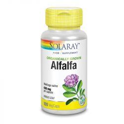 Solaray Organically Grown Alfalfa Leaf Vcaps 100