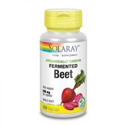 Solaray Organically Grown Fermented Beet Root Vcaps 100