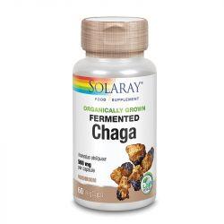 Solaray Organically Grown Fermented Chaga Mushroom Vcaps 60