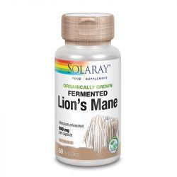 Solaray Organically Grown Fermented Lions Mane Mushroom Vcaps 60