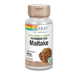 Solaray Organically Grown Fermented Maitake Mushroom Vcaps 60