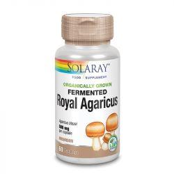 Solaray Organically Grown Royal Agaricus Mushroom Vcaps 60