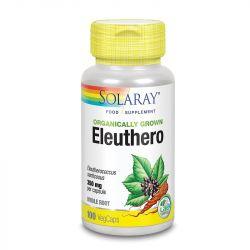 Solaray Organically Grown Eleuthero Root Vcaps 100