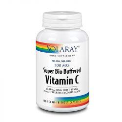 Solaray Super Bio Buffered Vitamin C 500mg Capsules 100