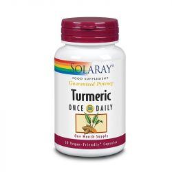 Solaray Turmeric One Daily 600mg Capsules 30