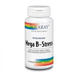 Solaray Two-Stage Mega B-Stress Capsules 60