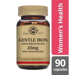 Solgar Gentle Iron 20mg Vegicaps 90