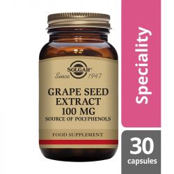 Solgar Grape Seed Extract 100mg Vegicaps 30