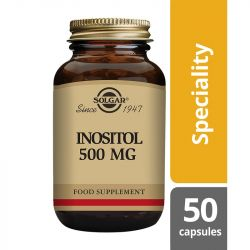 Solgar Inositol 500mg Vegicaps 50