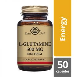 Solgar L-Glutamine 500mg 50 Vegicaps