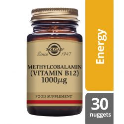 Solgar Methylcobalamin 1000mcg Nuggets 30
