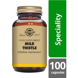 Solgar Milk Thistle 100mg Full Potency Vegicaps 100