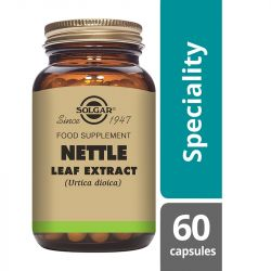 Solgar Nettle Leaf Extract Vegicaps 60