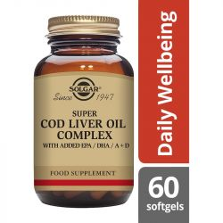 Solgar Super Cod Liver Oil Complex Softgels 60