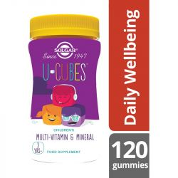 Solgar U-Cubes Children's Multi-Vitamin and Mineral Gummies 120