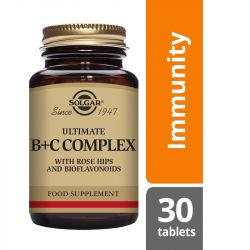 Solgar Ultimate B+C Complex Tablets 30