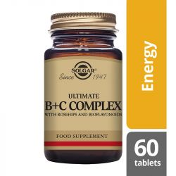 Solgar Ultimate B+C Complex Tablets 60