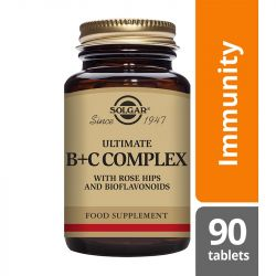 Solgar Ultimate B+C Complex Tablets 90