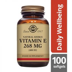 Solgar Vitamin E 268mg (400iu) Mixed Softgels 100