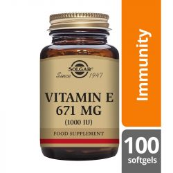 Solgar Vitamin E 671mg (1000iu) Mixed Softgels 100