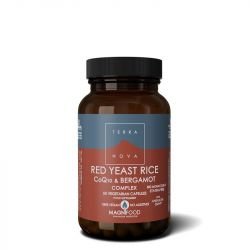 Terranova Red Yeast Rice, COQ-10 & Bergamot Complex Vegicaps 50