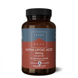 Terranova Alpha-Lipoic Acid 300mg Complex Vegicaps 100