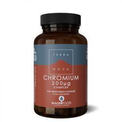 Terranova Chromium 200ug Complex Vegicaps 100