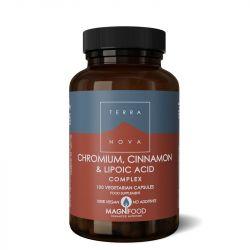 Terranova Chromium, Cinnamon & Lipoic Acid Complex Vegicaps 100