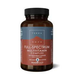 Terranova Full-Spectrum Multivitamin Complex Vegicaps 100