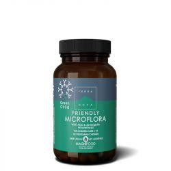 Terranova Green Child Friendly Microflora Vegicaps 50