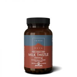 Terranova Milk Thistle 500mg Vegicaps 50