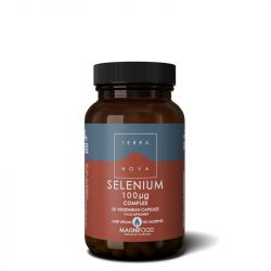Terranova Selenium 100ug Complex Vegicaps 50